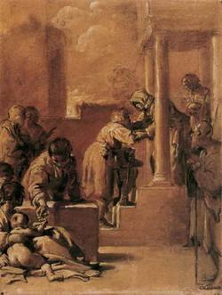 Встреча св. Иоакима со св. Анной (Бартоломео Скедони)
