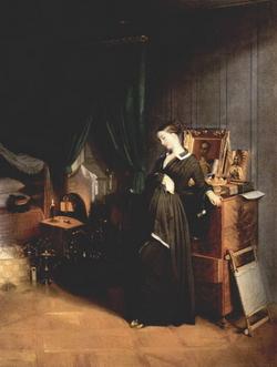 Вдовушка (П.А. Федотов, 1831-32)