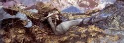 Демон поверженный (М.А. Врубель, 1902 г.)