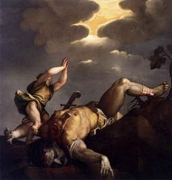 Давид и Голиаф (Тициан)