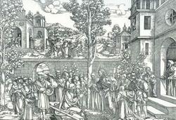 Воскрешение Лазаря (Ганс Шеуфелейн)