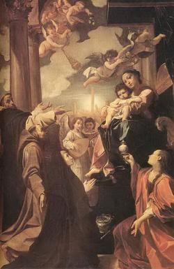 Мадонна со святыми (Лодовико Караччи)