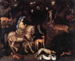 Видение святого Евстафия (Пизанелло)