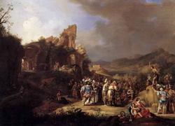 Проповедь Иоанна Крестителя (Бартоломео Бренберг)