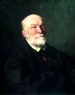 Портрет хирурга Н.И. Пирогова (Репин И.Е., 1881)