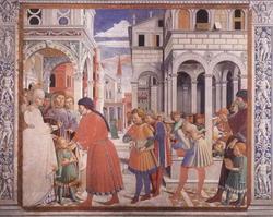 Воспитание святого Августина (Беноццо Гоццоли)