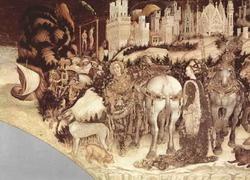 Святой Георгий освобождает царевну (Пизанелло)