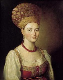 Портрет крестьянки (Аргунов И.П., 1784 г.)