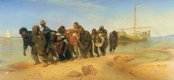 Бурлаки на Волге (Репин И.Е., 1870—1873)