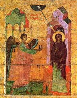 Мозаика в парусе собора монастыря Хора (14 в.)