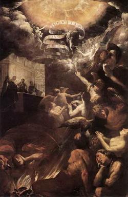 Святой Георгий, дарующий душу (Дж.Б. Креспи)