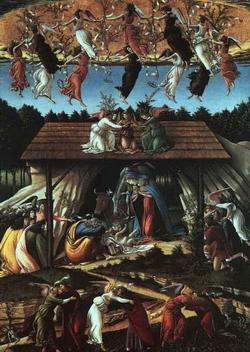 Рождество Христово (Сандро Боттичелли, 1500 г.)