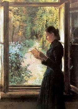 Портрет госпожи Н.И. Петрункевич (Н.Н. Ге)