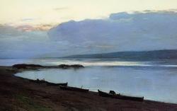 Вечер на Волге (Левитан И.И., 1886—1888)