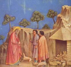 Возвращение Иоакима к пастухам (Джотто, 1306 г.)