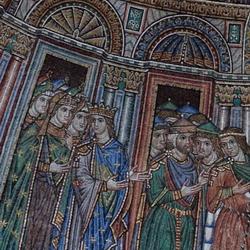 Мозаика в базилике Сан Марко в Венеции