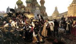 Утро стрелецкой казни (Суриков В.И., 1881)