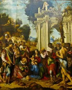 Поклонение волхвов (Чезаре де Сесто)