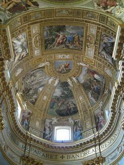 Плафон собора Сан Андреа Делла Валле (Доменикино)