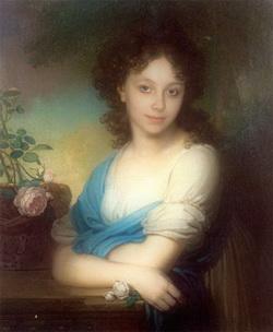 Портрет Е.А. Нарышкиной (В.Л. Боровиковский)
