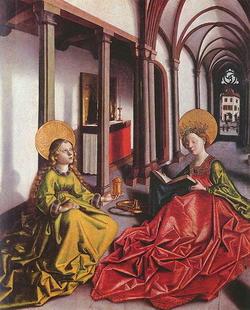 Святая Марина Магдалина и Святая Екатерина (К. Витц)