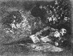 После смерти (Гойя)