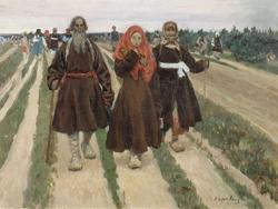 К Троице (С.А. Коровин, 1896)