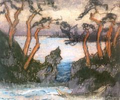 Берег моря. 1914 г.