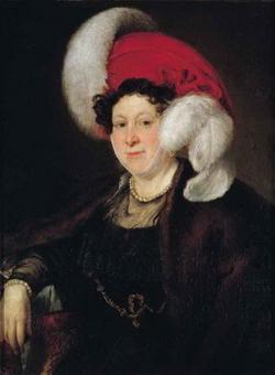 Графиня Зубова (В.А. Тропинин)