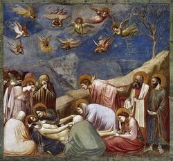 Плач над телом Христа (Джотто)