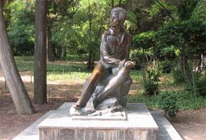 Памятник Пушкину в Гурзуфе