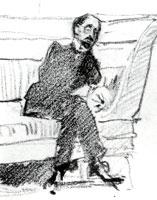 М.А. Кузьмин. 1907 г.