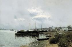 После дождя. Плёс (Левитан И.И., 1889)