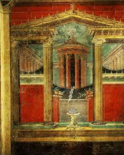 Стенопись в Боскореале близ Помпей