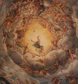 Плафон в куполе Пармского собора (Корреджо)