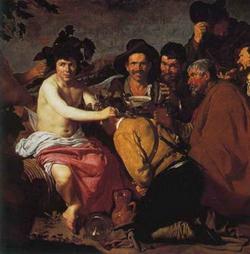 Бахус и пьяницы (Веласкес)