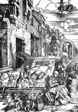 Детство Христа (Альбрехт Дюрер, после 1506 г.).