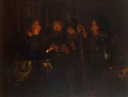 Отречение св. Петра (Герард Зегерс)