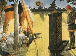Иллюстрация из аллегорического романа (Бартелеми де Клерк)