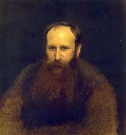 Портрет художника В.В. Верещагина (Крамской И.Н., 1883)