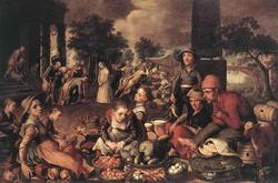 Христос и Блудница (Питер Эртсен)