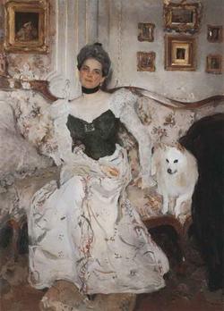 Портрет княгини (В.А. Серов)
