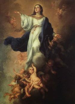 Взятие Богородицы на небо (Мурильо)
