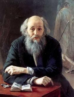 Портрет художника Н.Н. Ге (Ярошенко Я.А., 1890)