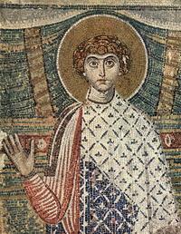 Мозаика базилики Святого Димитрия (7 век)