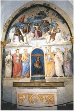 Фрески в капелле Сан Северо в Неаполе