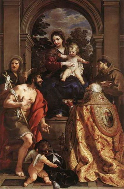 Мадонна со святыми (Педро да Кортоне)
