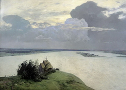 Над вечным покоем (Левитан И.И., 1894)