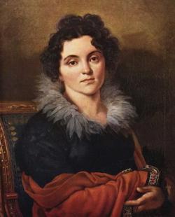 Портрет Д.Н. Хвостовой (Кипренский О.А., 1814 г.)