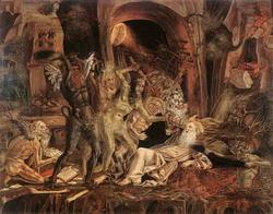 Встреча святого Антония с разбойниками (Бернардо Парентино)